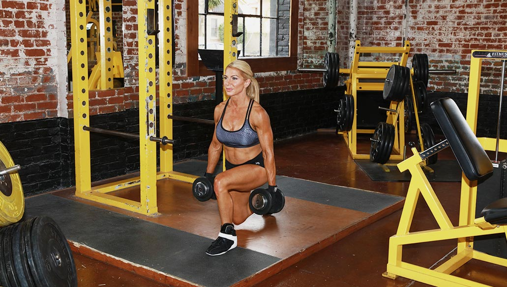 Lower Body - Squats, Lunges & Dead Lifts