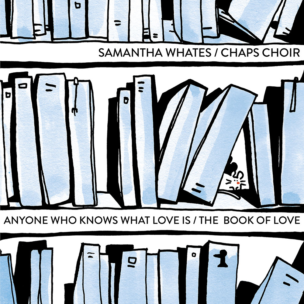 Anyone Who Knows What Love Is / The Book Of Love - Samantha Whates / Chaps Choir - DOUBLE A SIDE SINGLE - 7