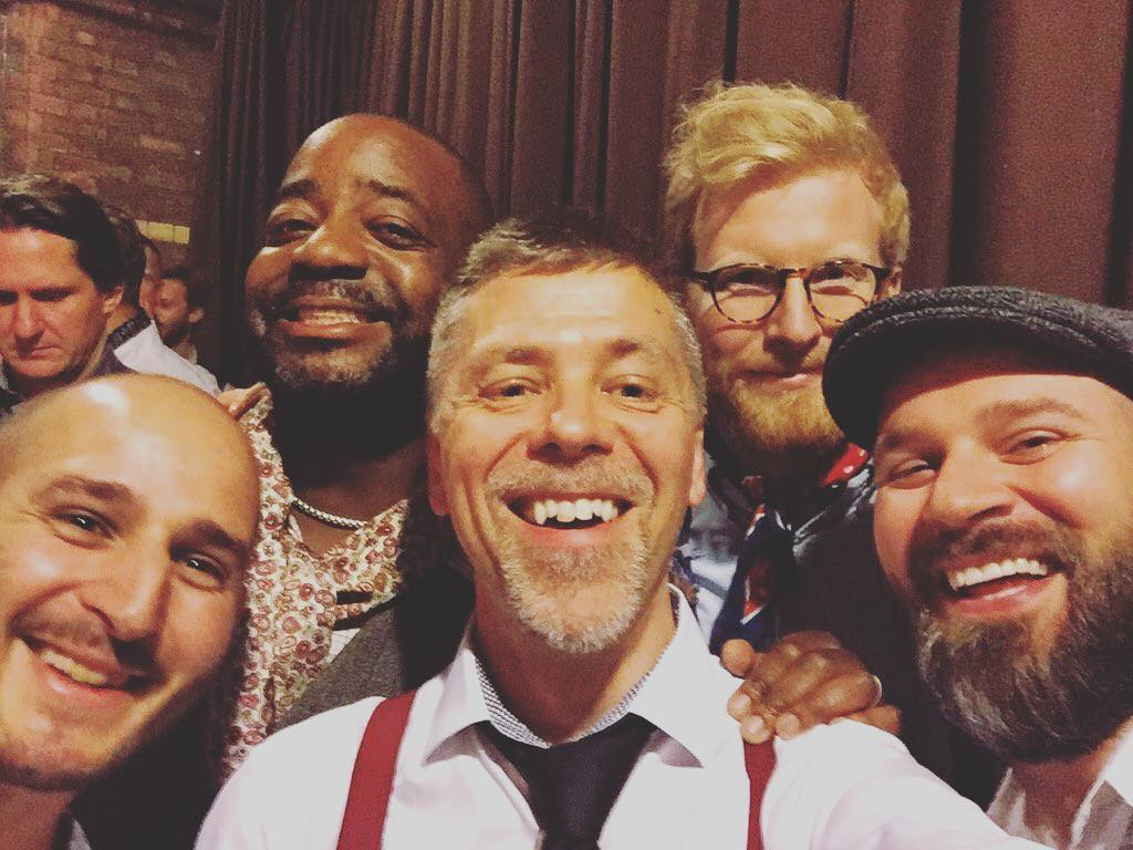 Backstage chaps