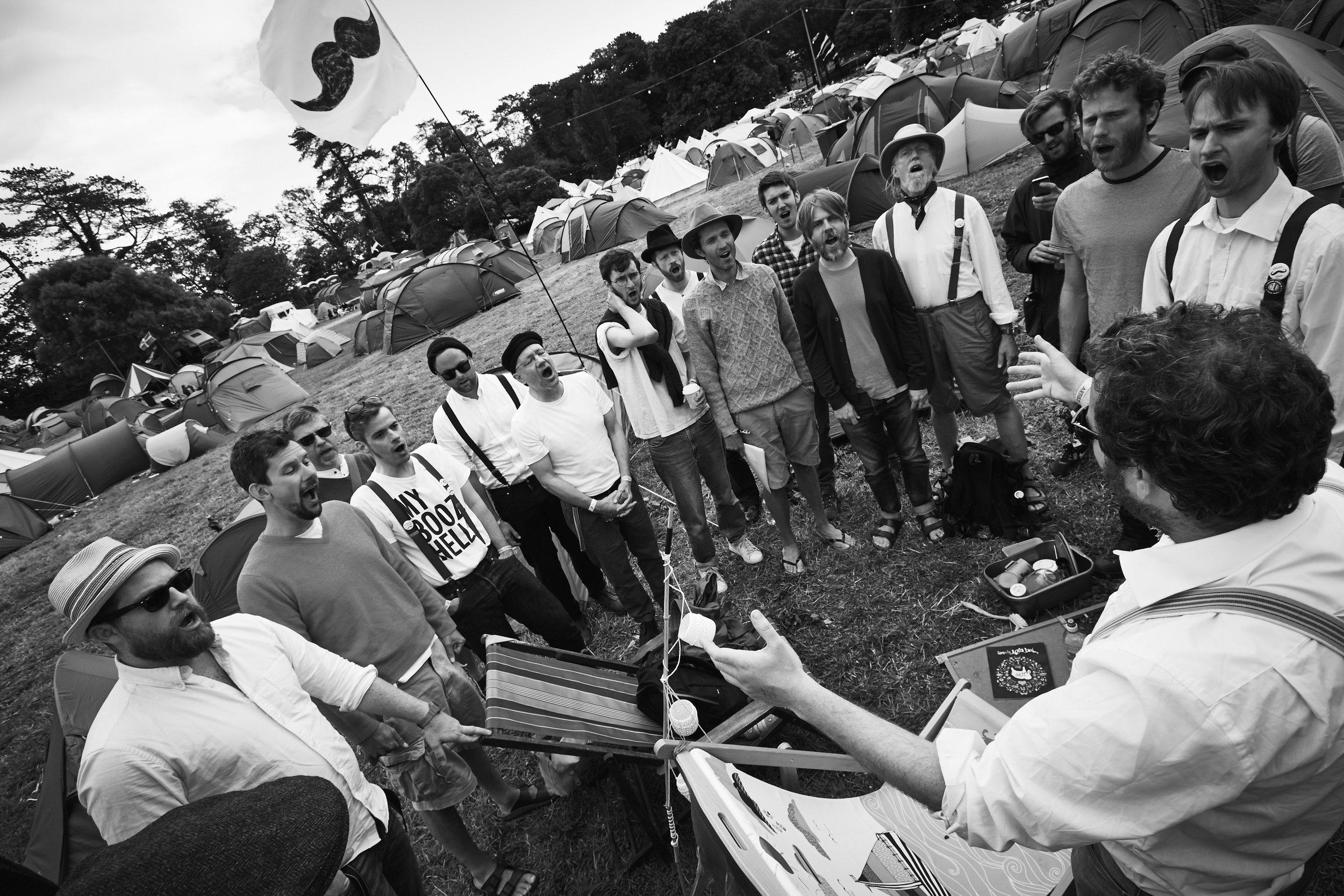Chap camp @ Port Eliot