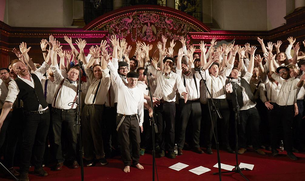 Chaps Choir & the Chap-Up chaps Photo © Matt Veal