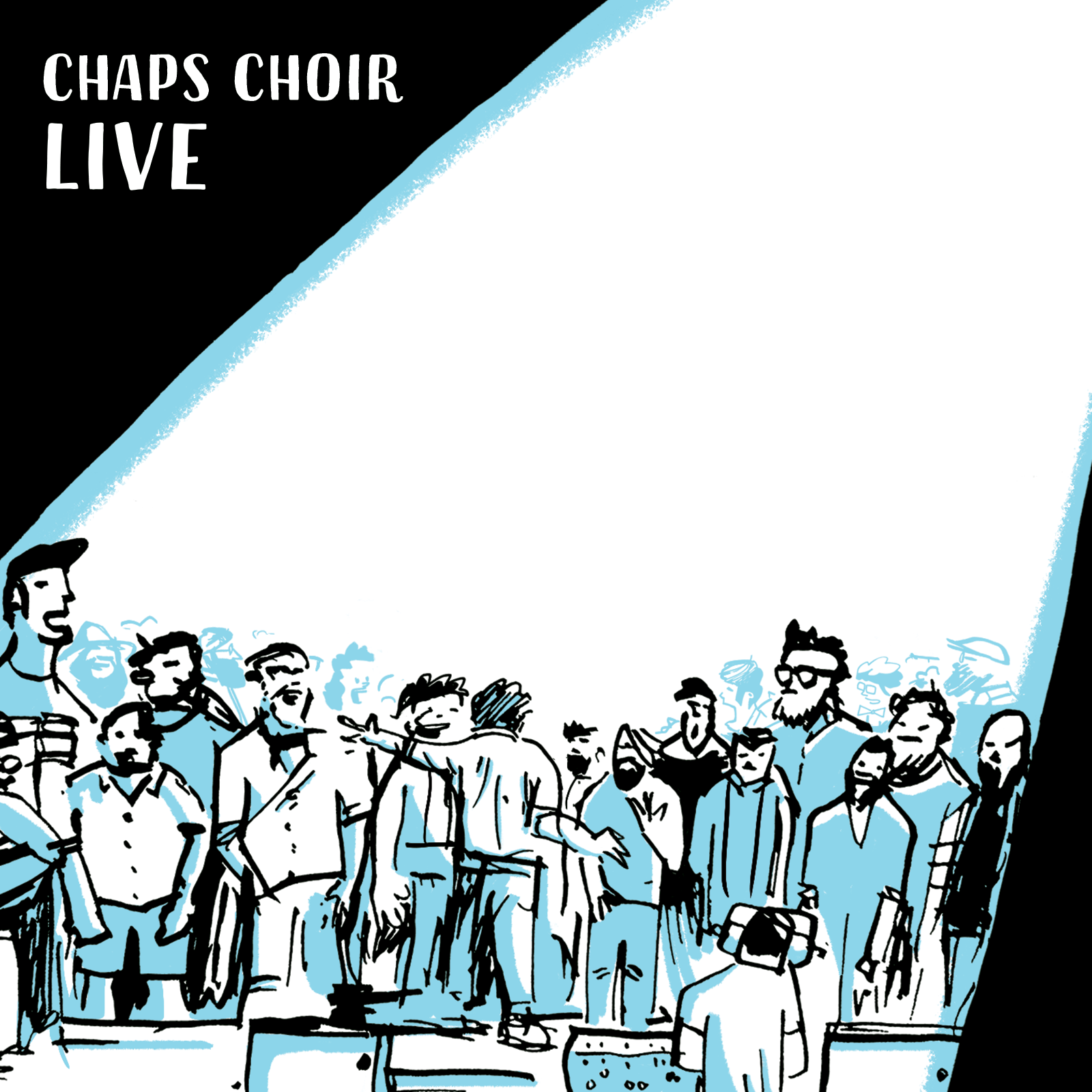 CHAPS CHOIR LIVE - LIVE ALBUM-------------------Featuring the chaps singing their favourite rock and pop bangers, taken from our live shows at the Union Chapel and including a hot hot line-up of accompanying musicians.1) You're The Voice 2) The Logical Song 3) I Wanna Dance With Somebody (Who Loves Me) 4) Don't Want To Know 5) A Drop Of Shanty 6) Cucurucu 7) Hurt (feat. Chris Thow) 8) The Loving 9) Now Is Time 10) Song To The Siren I1) Shall Be Released- 11 track CD in 4 panel colour printed digipak- Worldwide shipping!Artwork by Dylan WhiteAvailable on iTunes / Apple Music from 3rd July 2019
