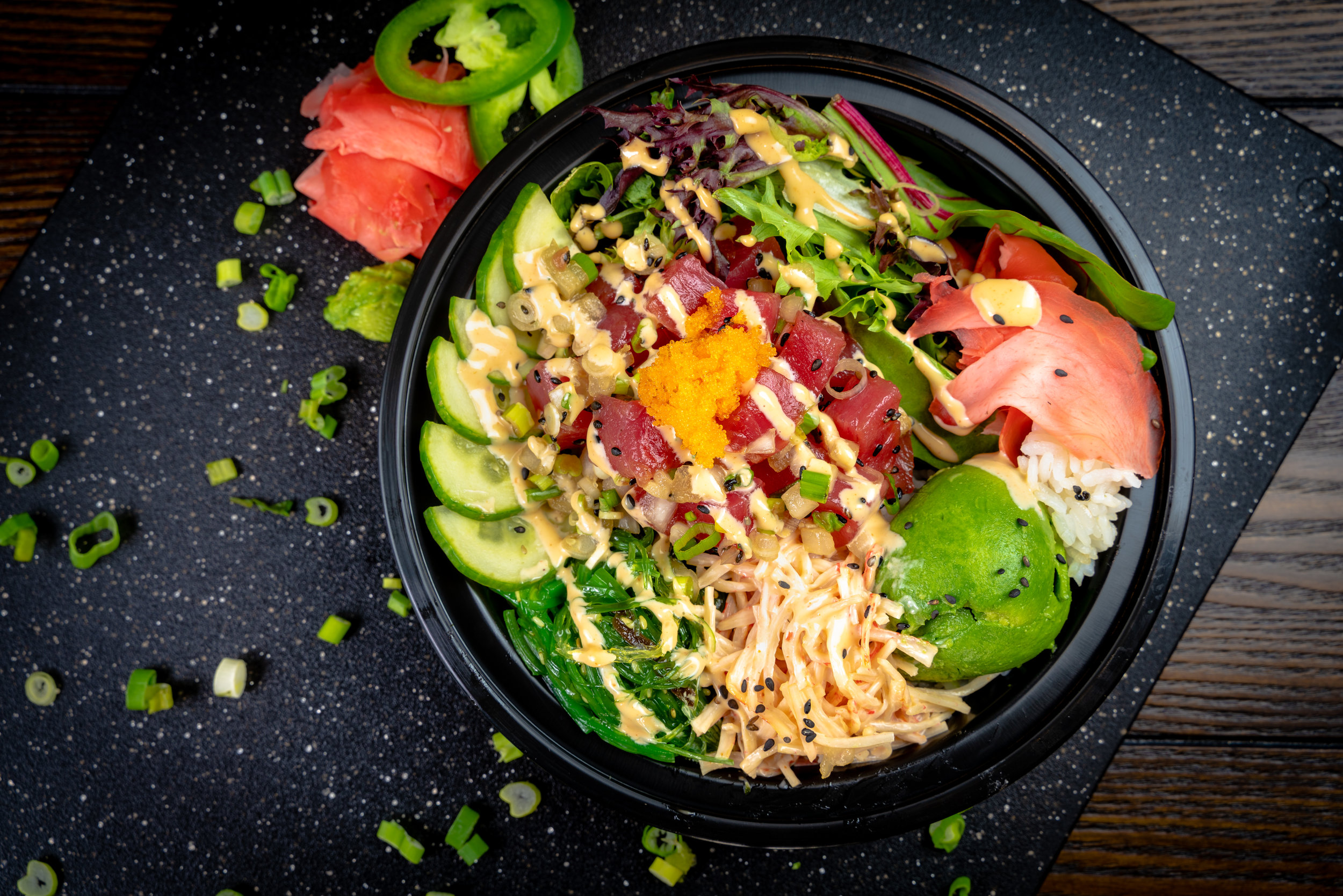 Signature Bowl - Blended Poke Bowl