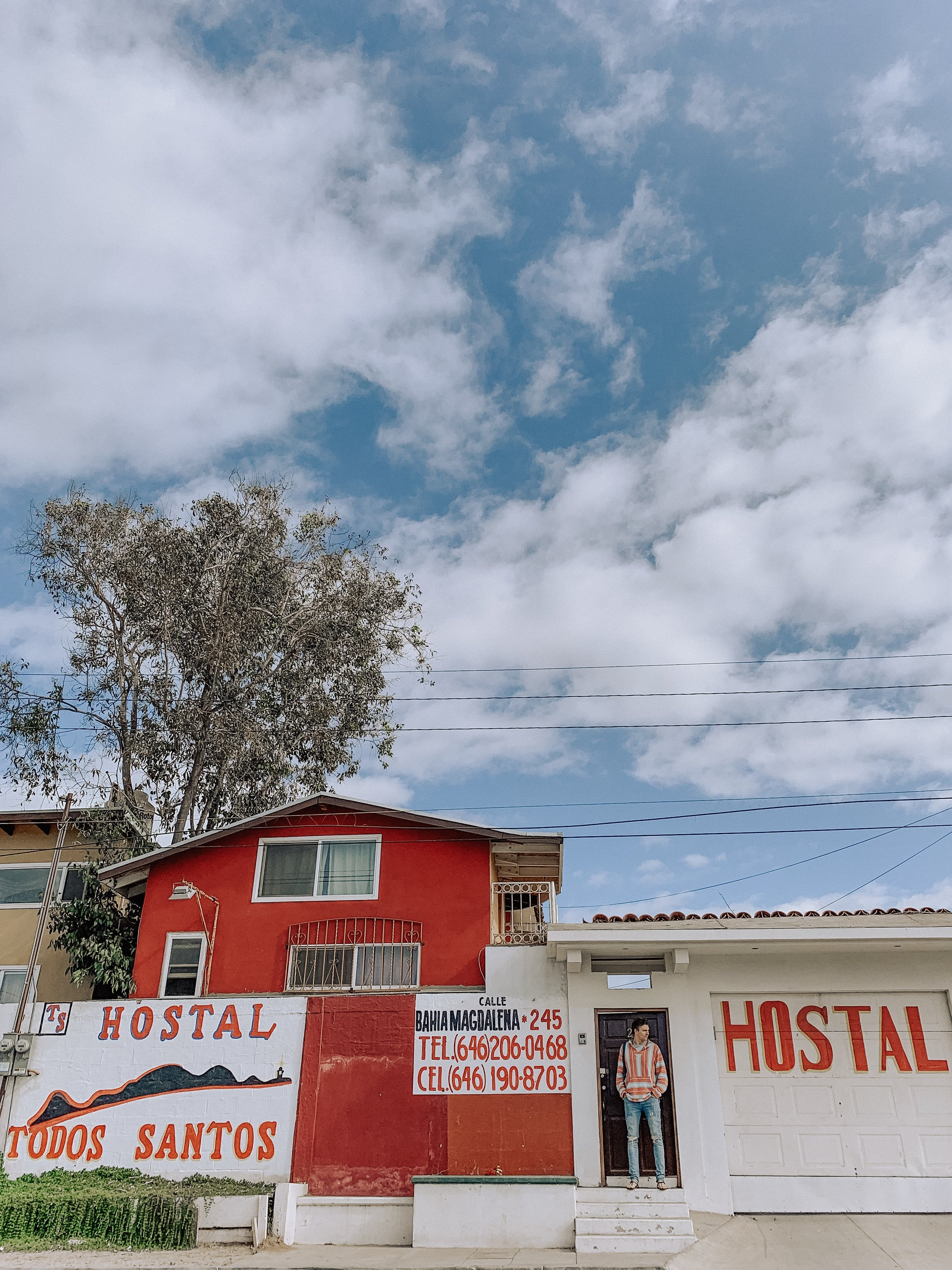 Our hostel in Ensenada, aptly named after a city that is 1,000 miles south of here.