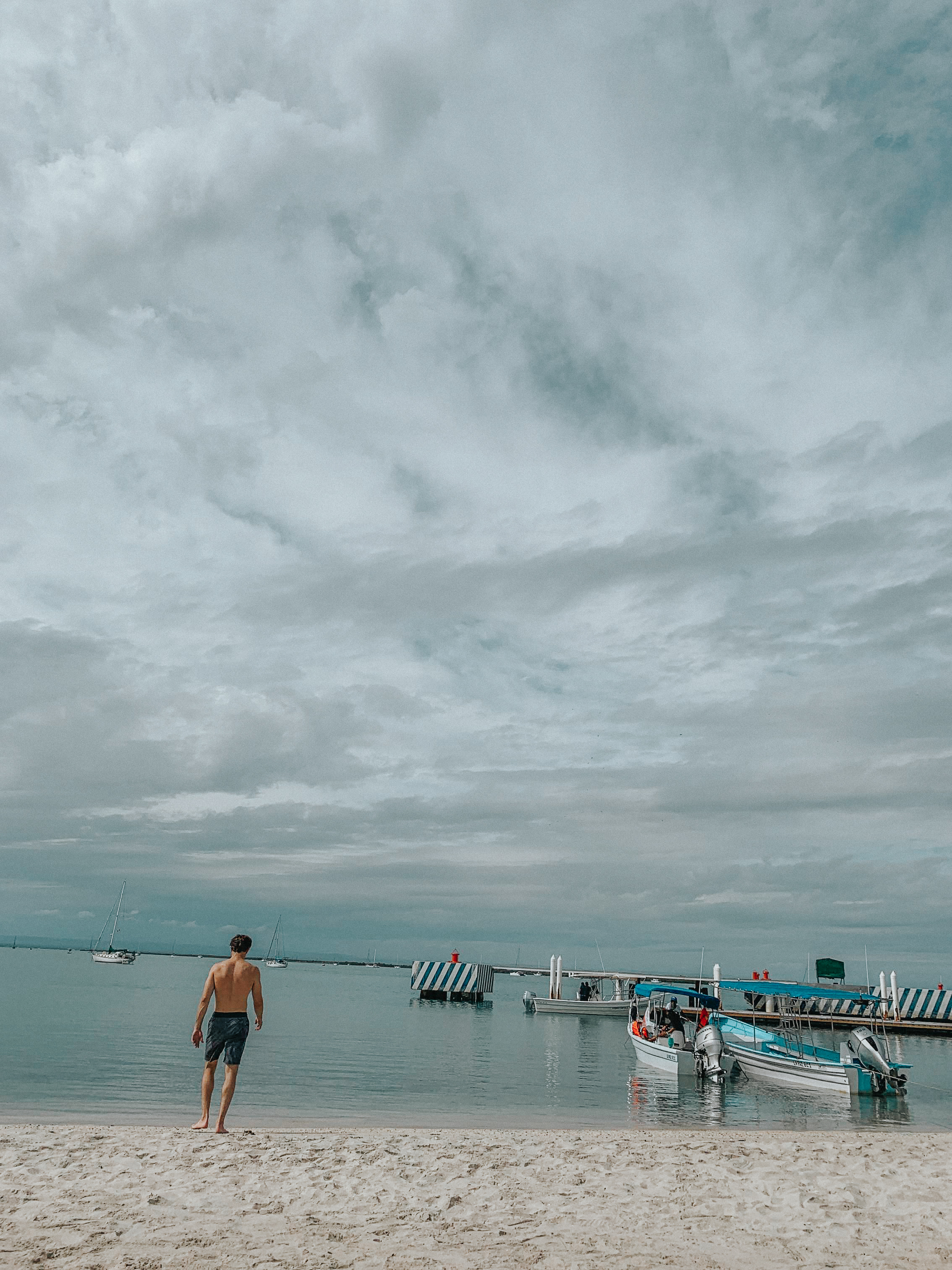 La Paz beach day.