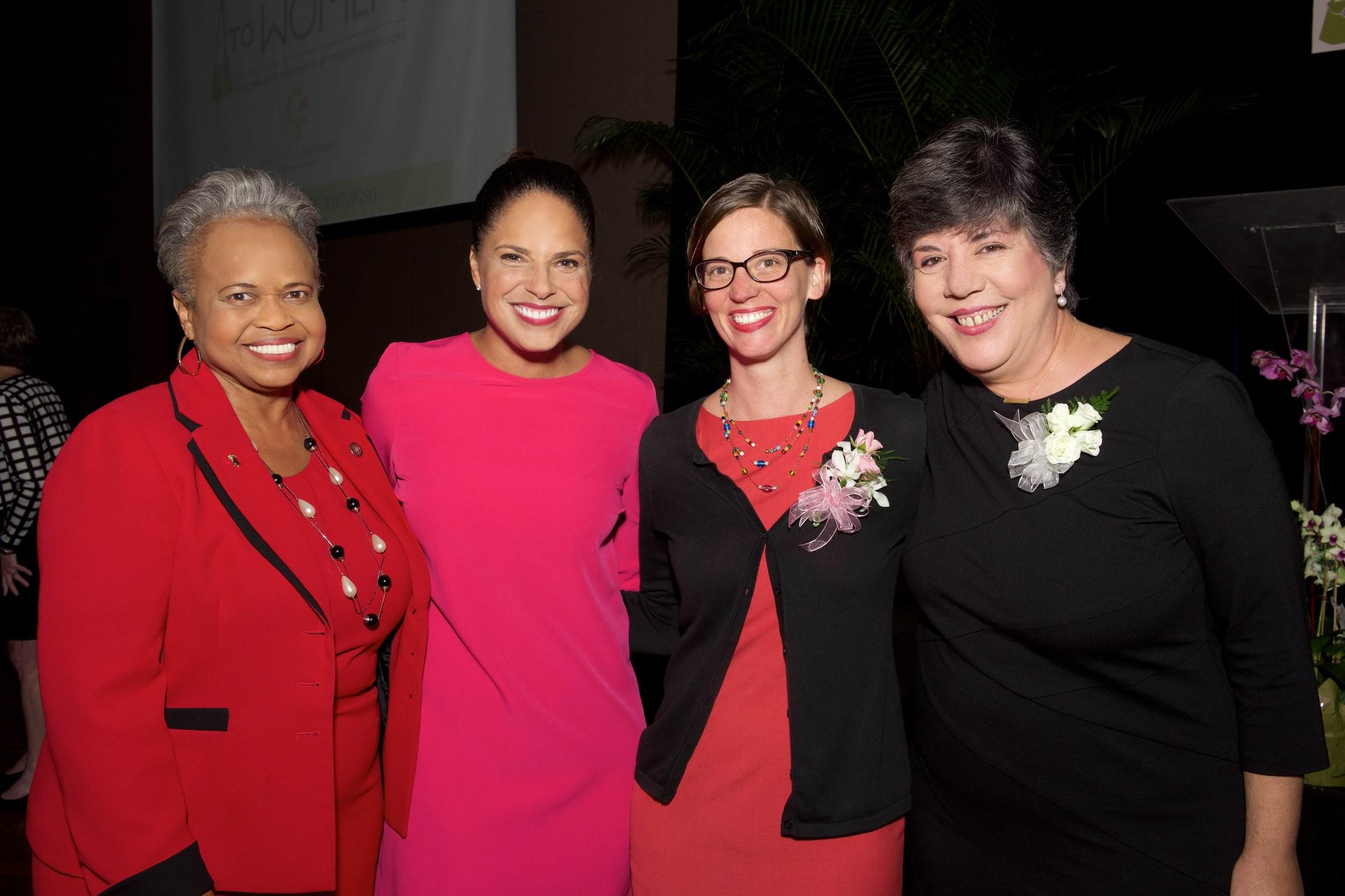 Soledad O'Brian and WOTY Recipients