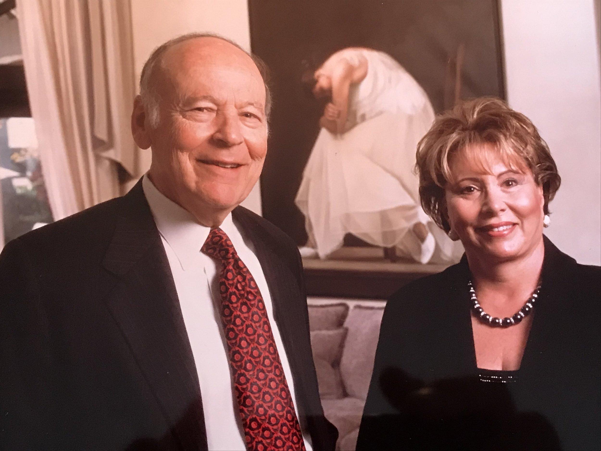 Randall Kaplan's parents,Leonard and Tobee Kaplan