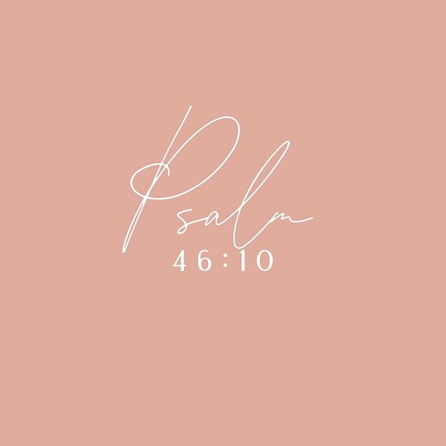 """""""Surrender your anxiety! Be silent and stop your striving and you will see that I am God. I am the God above all the nations, and I will be exalted throughout the whole earth."""" Psalms 46:10 TPT ... What jumps out at you with this version of this verse?"""