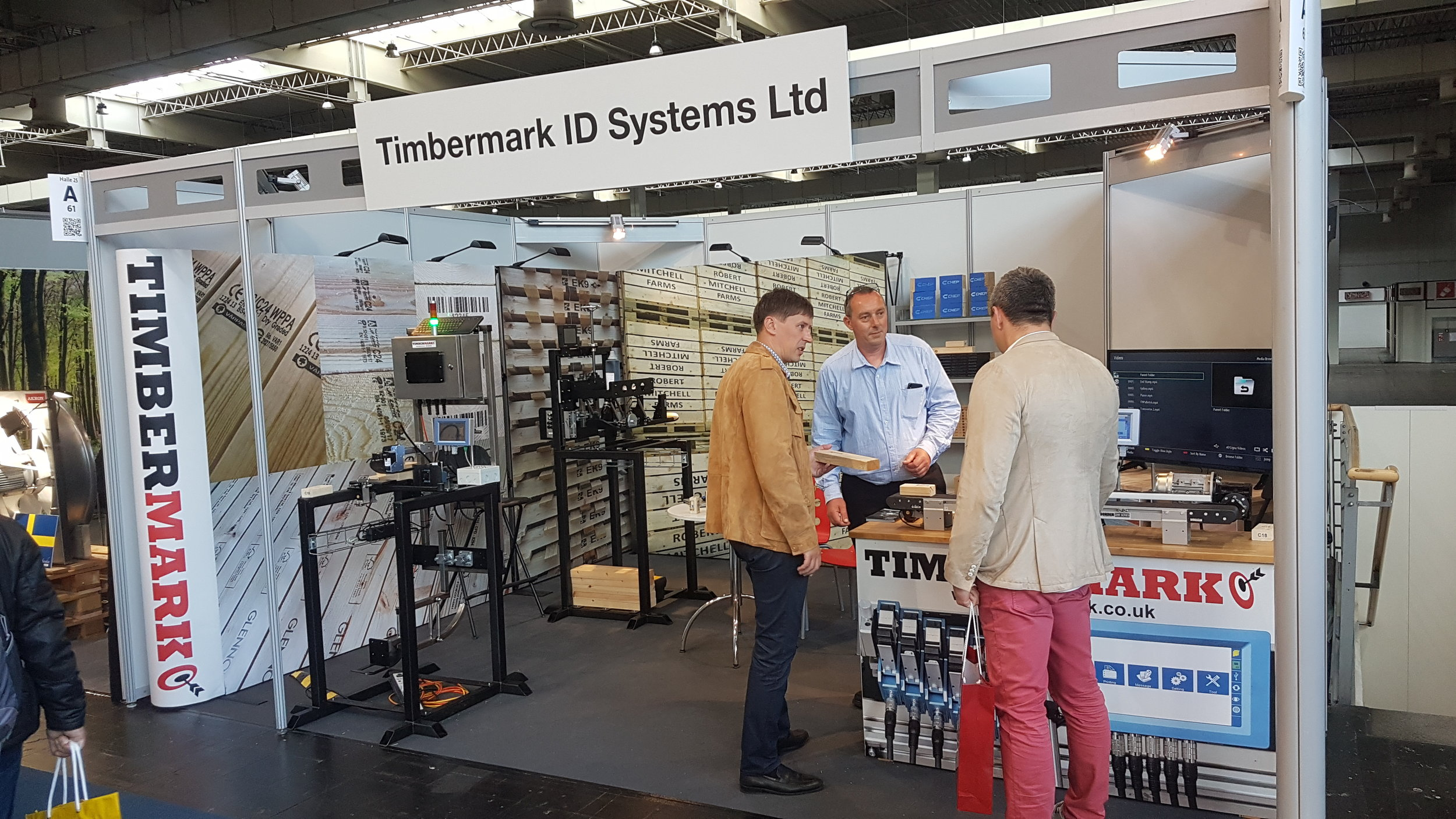 We enjoyed a busy time at LIGNA handling lots of enquiries from Europe and further afield