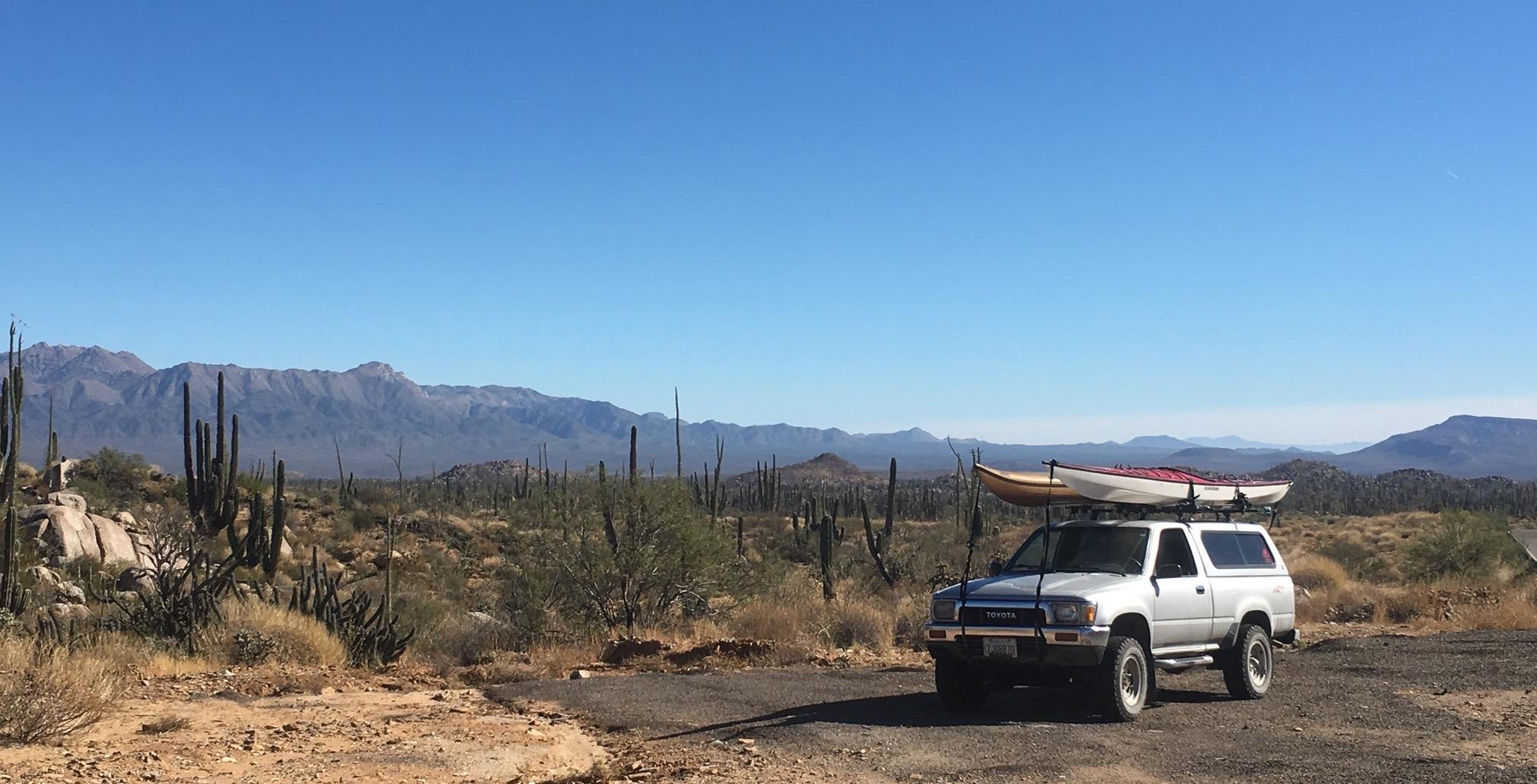 Finally across the border! Baja is the best!
