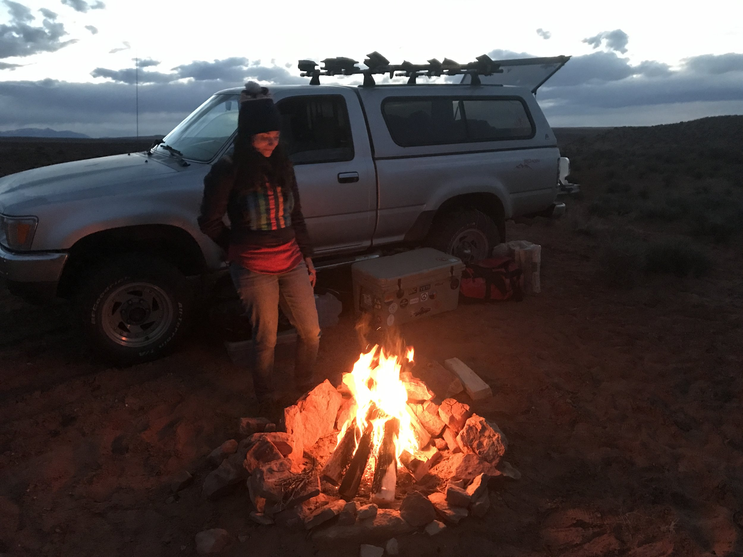 Camping on BLM land outside of CNP