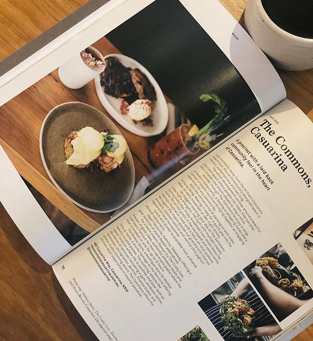 Awesome write up on us and our neighbours @thecommonscasuarina in the brand spanking new @takeawayannual magazine ☕️🍴 thanks for the feature legends 👏🏼👏🏼