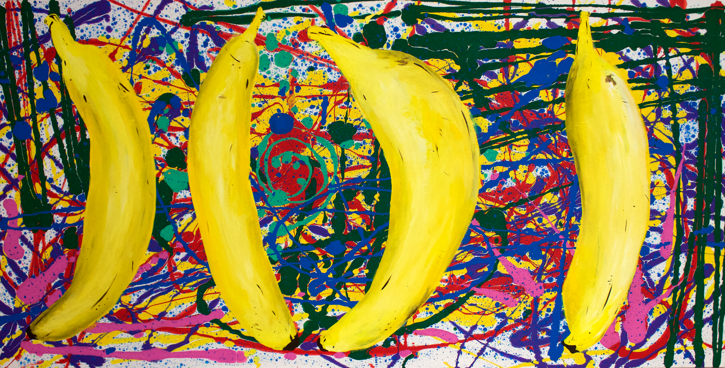 Nanners, 24 x 48 inches.