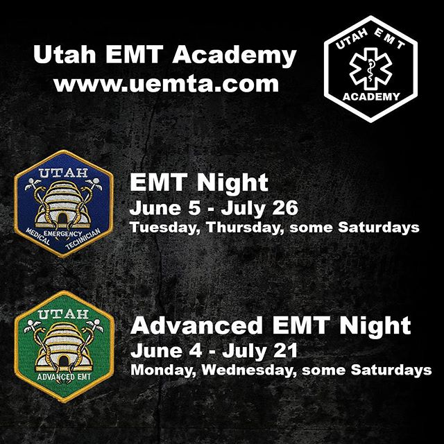 Enroll before our classes are full at our convenient Sandy campus. Our deposit option holds your seat in the class and is applied towards the total cost. www.uemta.com