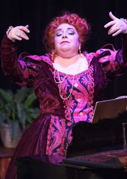 The Marquise de Berkenfield , La fille du regiment , Intermountain Opera Bozeman, 2017