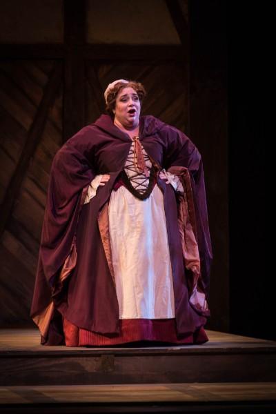 Mrs. Quickly ,  Sir John in Love , Odyssey Opera, 2015