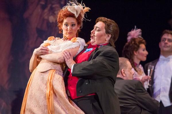 Prince Orlovsky,  Die Fledermaus  (with Katrina Thurman), Syracuse Opera, 2014