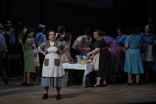 Mrs. McLean,  Susannah , Des Moines Metro Opera, 2010