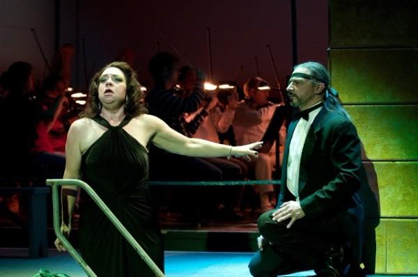 Erda,  Das Rheingold  (with Greer Grimsley),  Indianapolis Opera, 2009