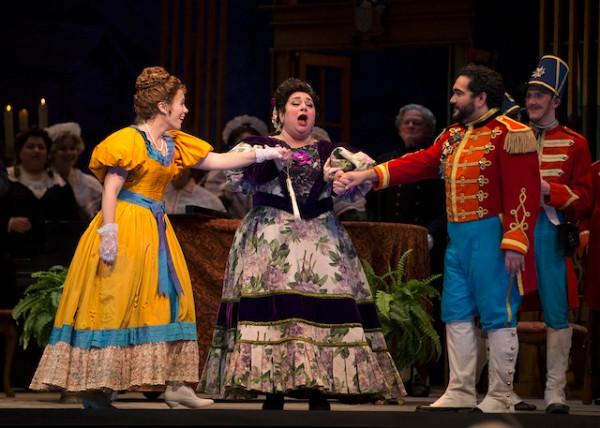 The Marquise de Berkenfield , La fille du regiment (with Rachel Gilmore and Rene Barbera),Austin Opera , 2017