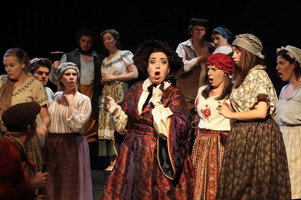 The Marquise de Berkenfield , La fille du regiment , Sugar Creek Festival, 2010