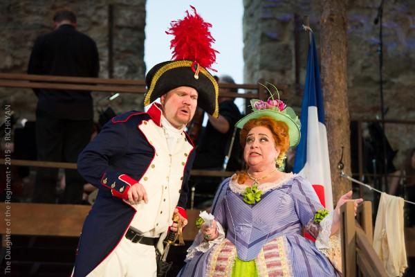 The Marquise de Berkenfield , La fille du regiment  (with Nathan Stark),Mill City Summer Opera, 2015