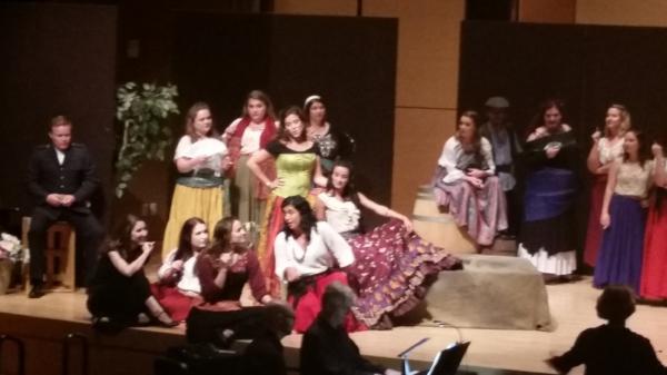 Carmen  ,Spotlight on Opera, 2015