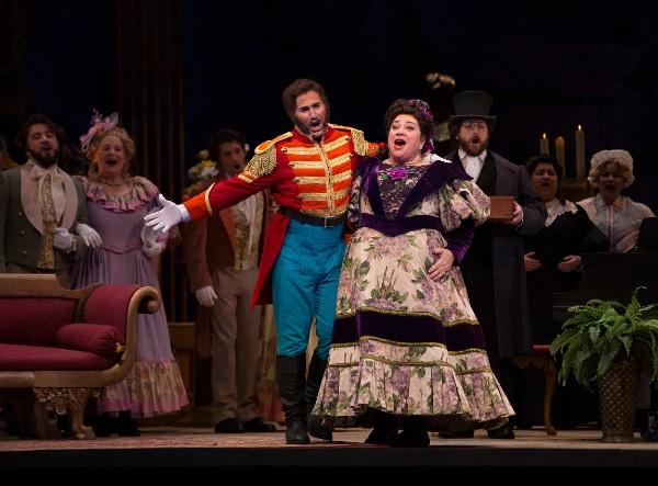 The Marquise de Berkenfield , La fille du regiment (with Stefano de Peppo),Austin Opera , 2017