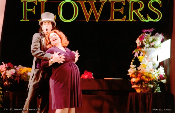 Martha , Faust  (with Jamie Offenbach), Austin Opera, 2013