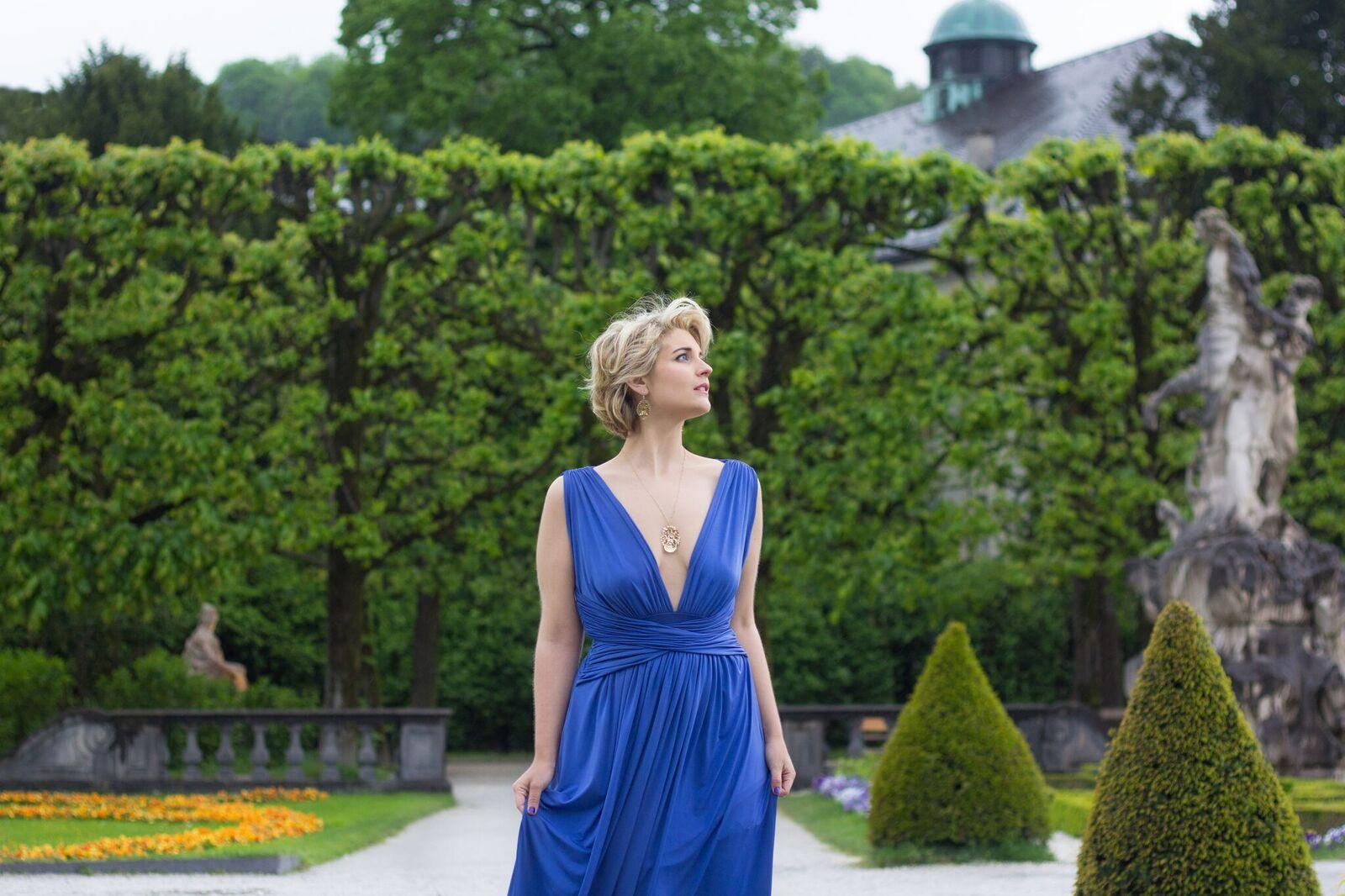 Soprano Veronika Obermeir. Photo by Melissa Zgouridi.