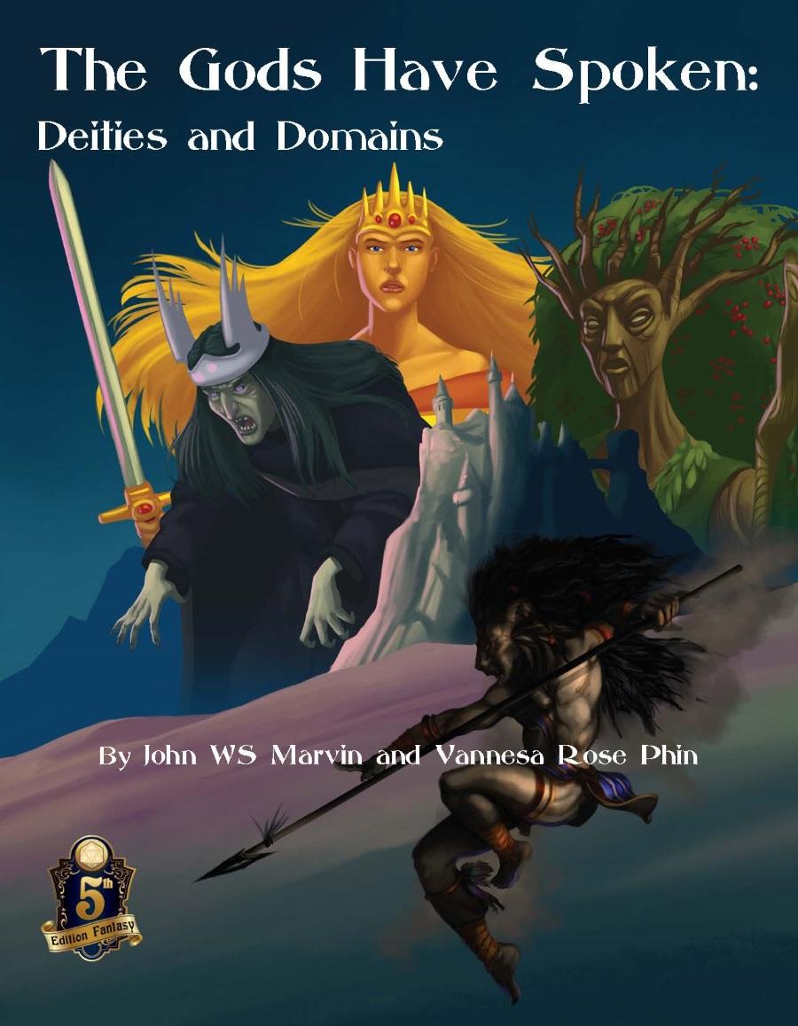 Dread Unicorn Games - The Gods Have Spoken