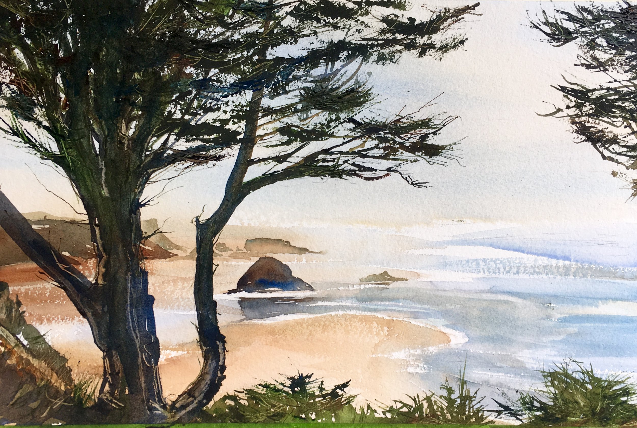View from Deryl's House, Sold
