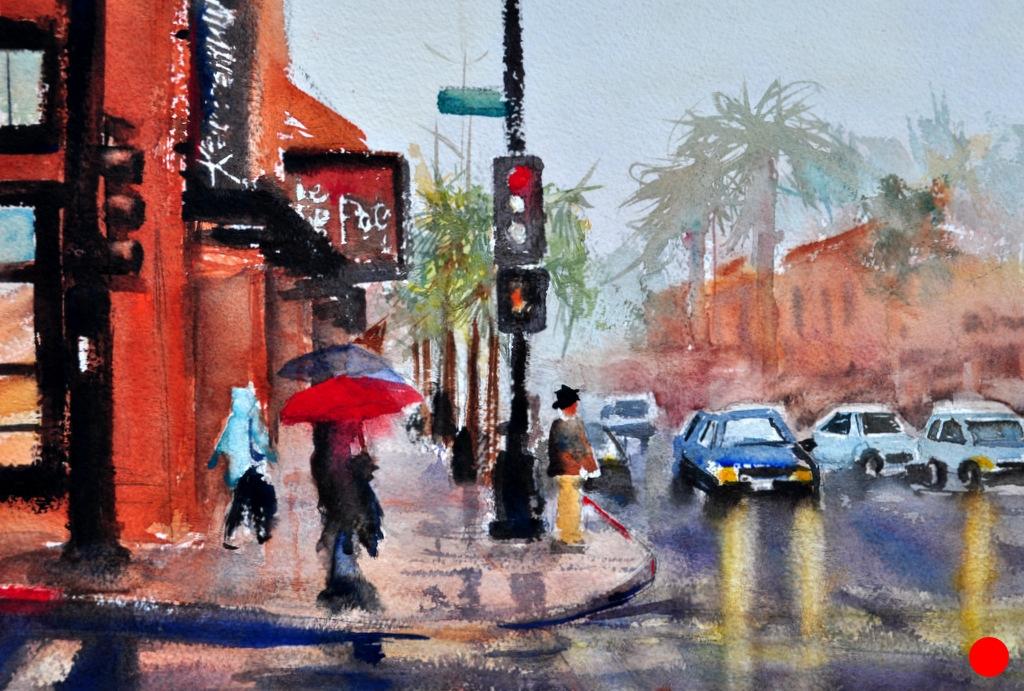 The Red Umbrella, Sold