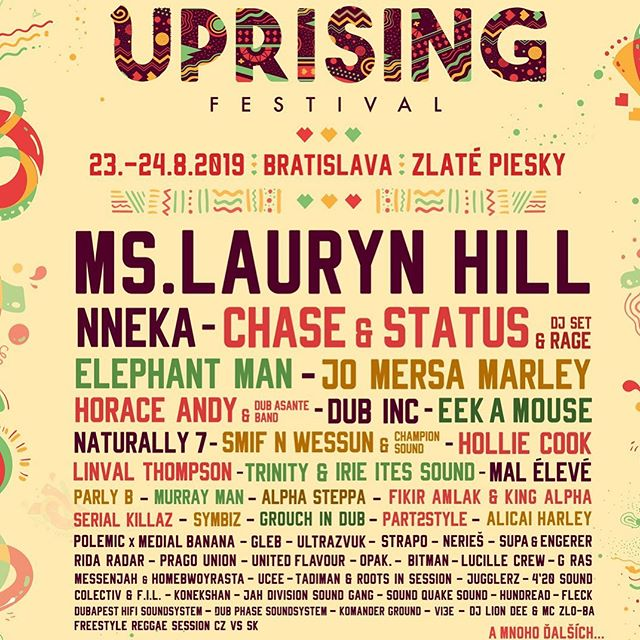 4 weeks away ➡️ @uprising_festival  with @joseph_king_alpha in 🇸🇰