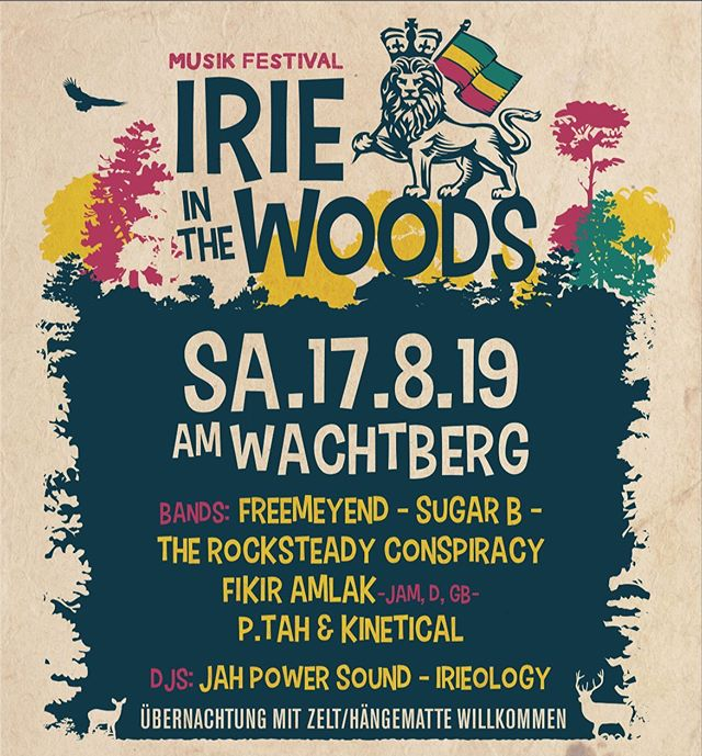 🔜 August 17th with @goachant in 🇦🇹 @irie.in.the.woods.2019
