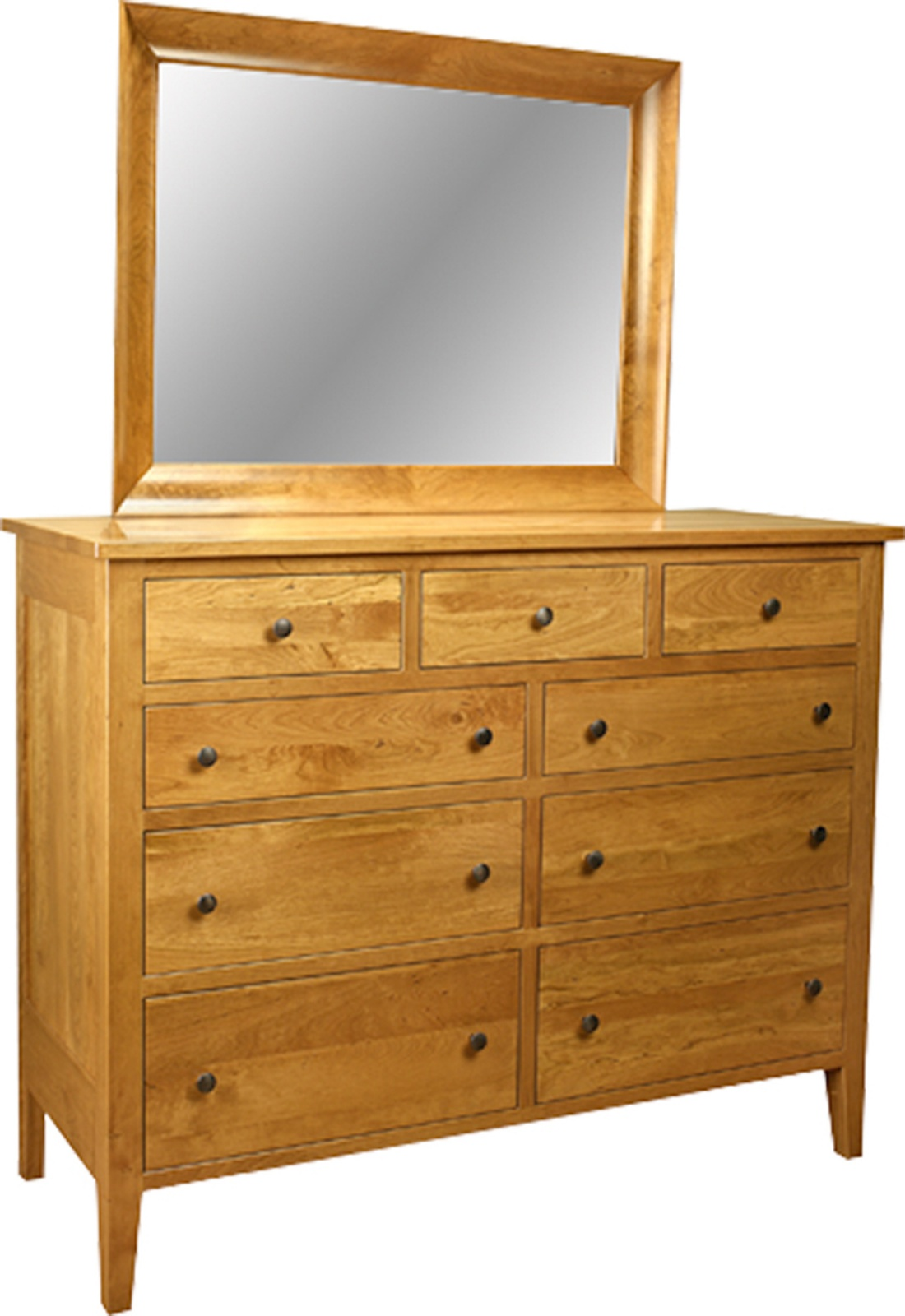 Tall Dresser & Mirror