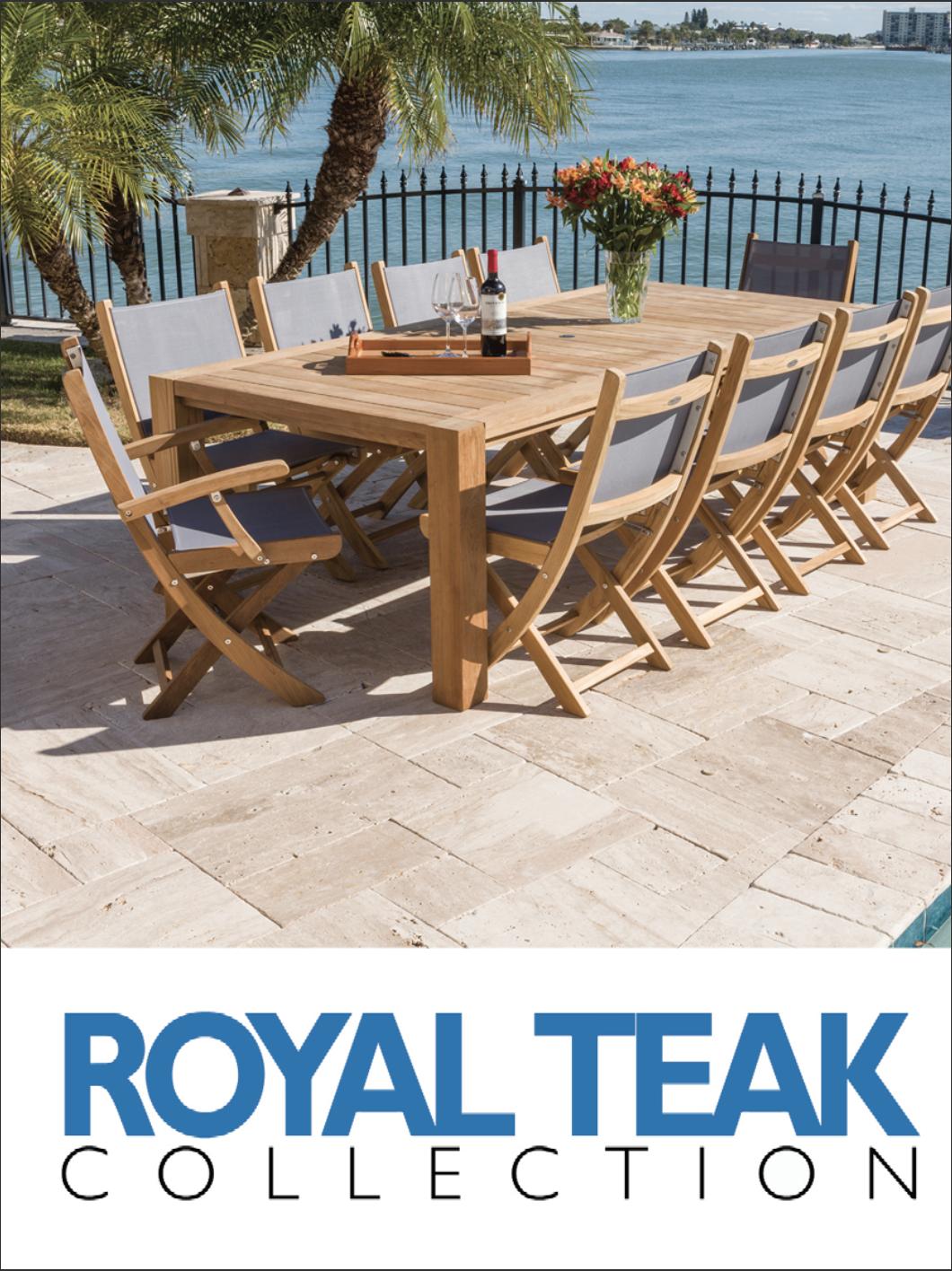 Check out Royal Teak's 2019 Catalog -