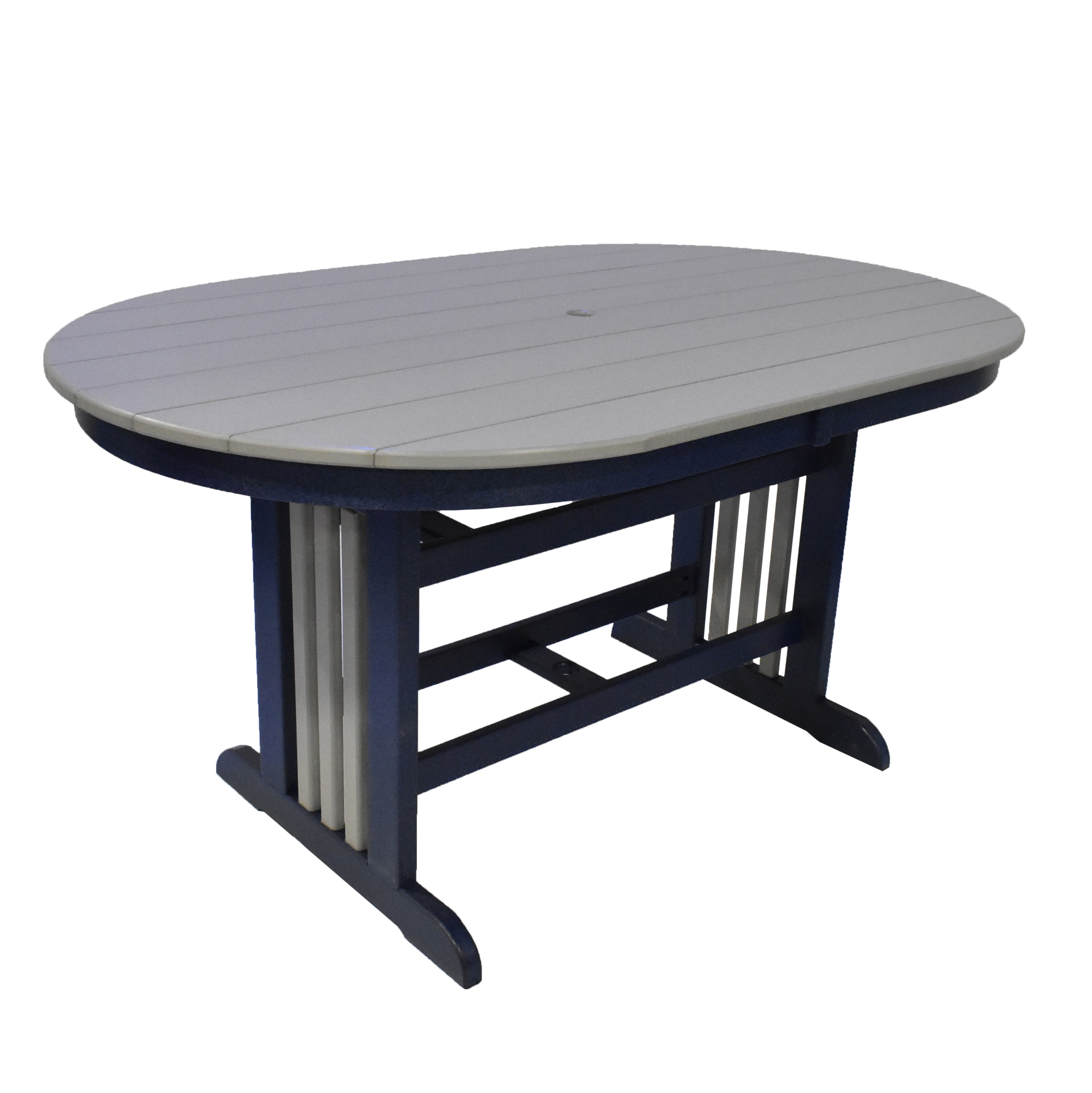 44x72 Oval Cafe Table