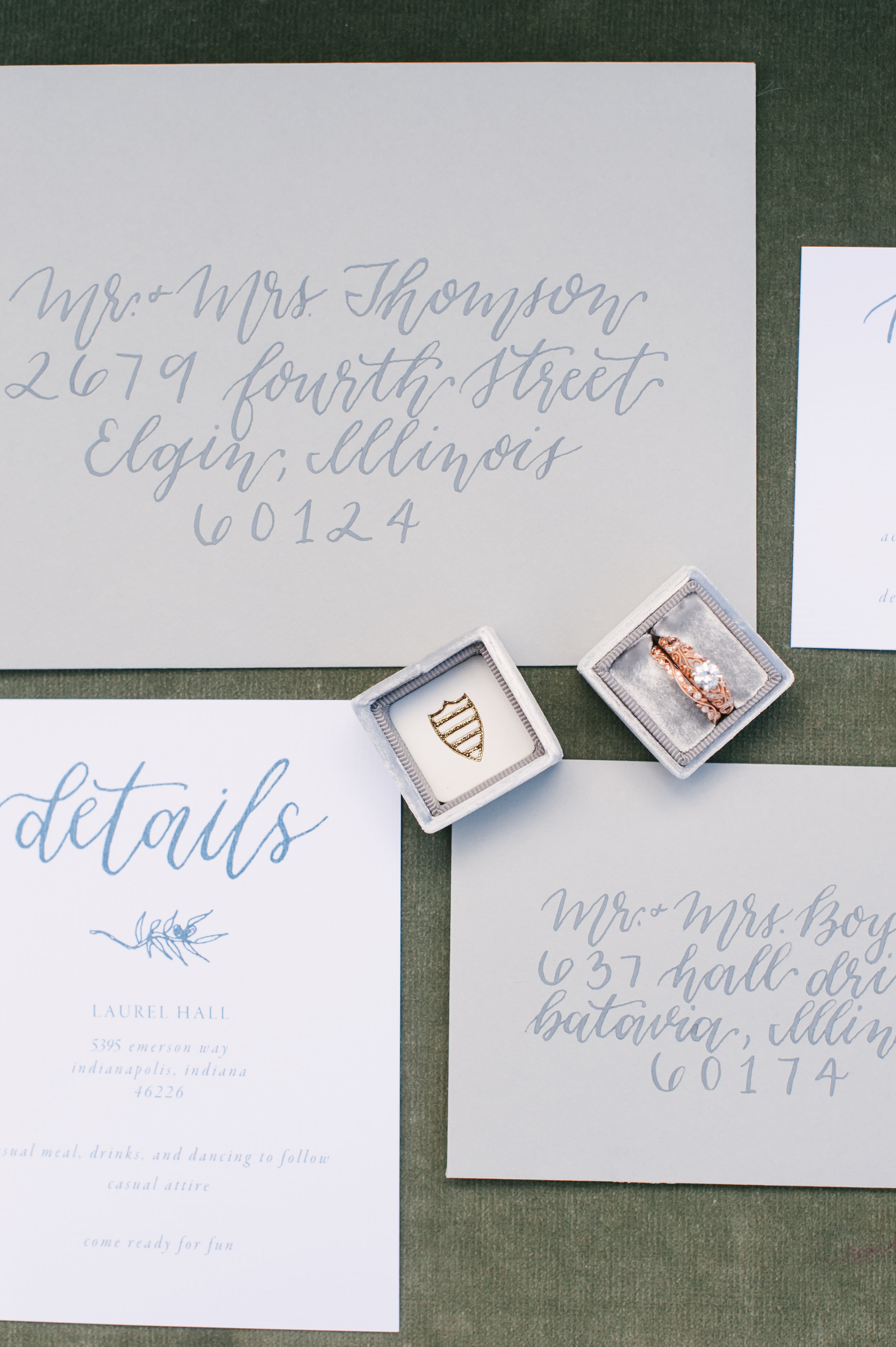 Wedding Invitations - Custom invitations are the perfect way to make your event stand out. Elegant & whimsical, an invitation suite that perfectly matches the feel of your wedding will take your event and add a new level of luxury.