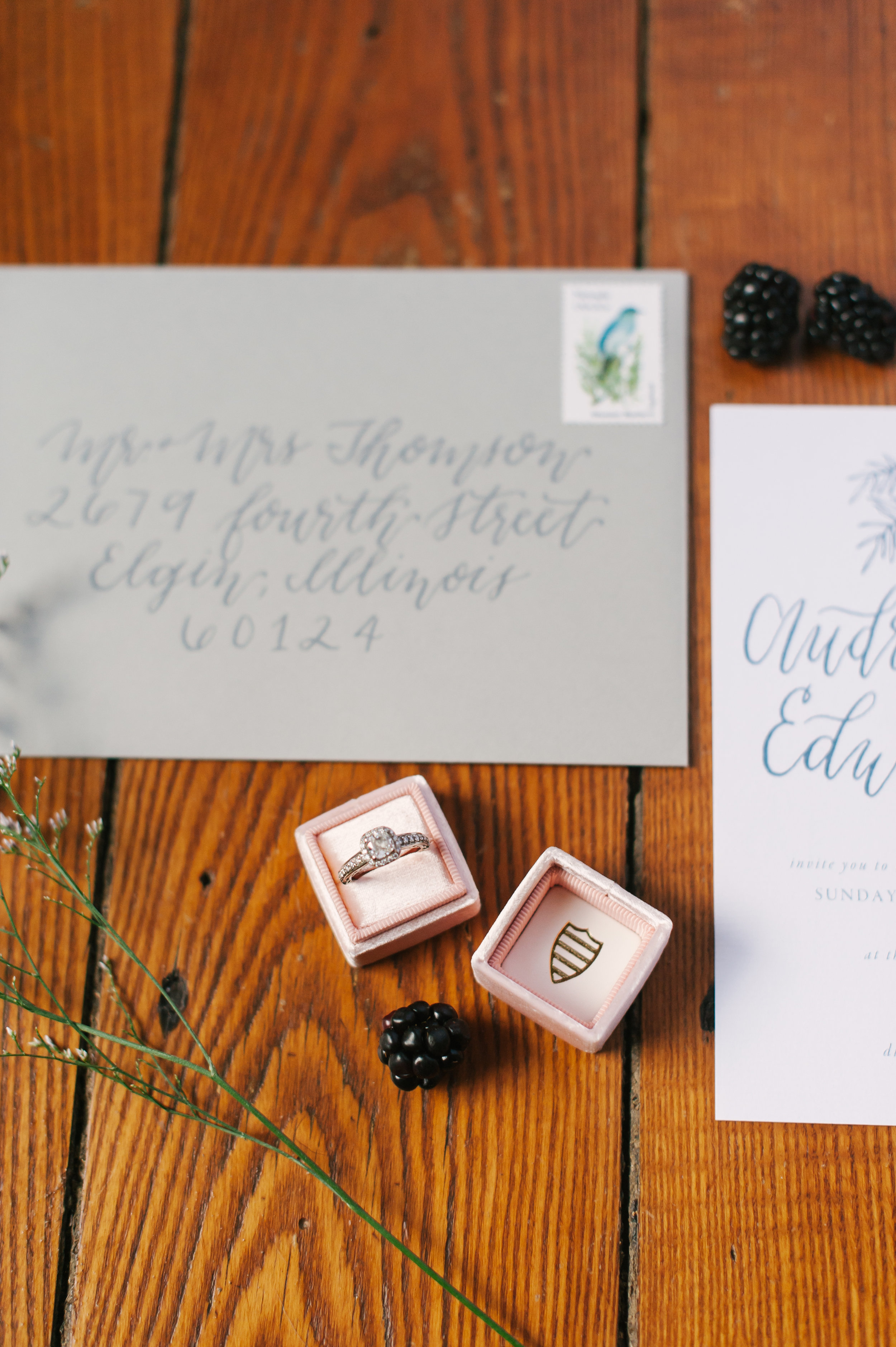Unique and personalized envelope addressing -