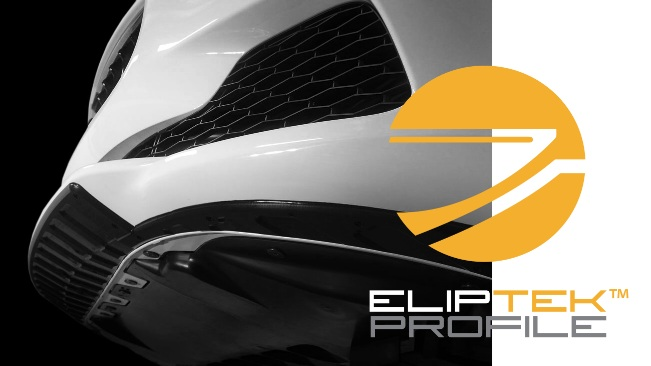Scrape Armor's patent-pending ElipTek edges are angled to help eliminate hard edges which can catch and pull on unseen obstacles.  ElipTek protects your bumper when reversing off an obstacle that has made contact with your vehicle's front end.