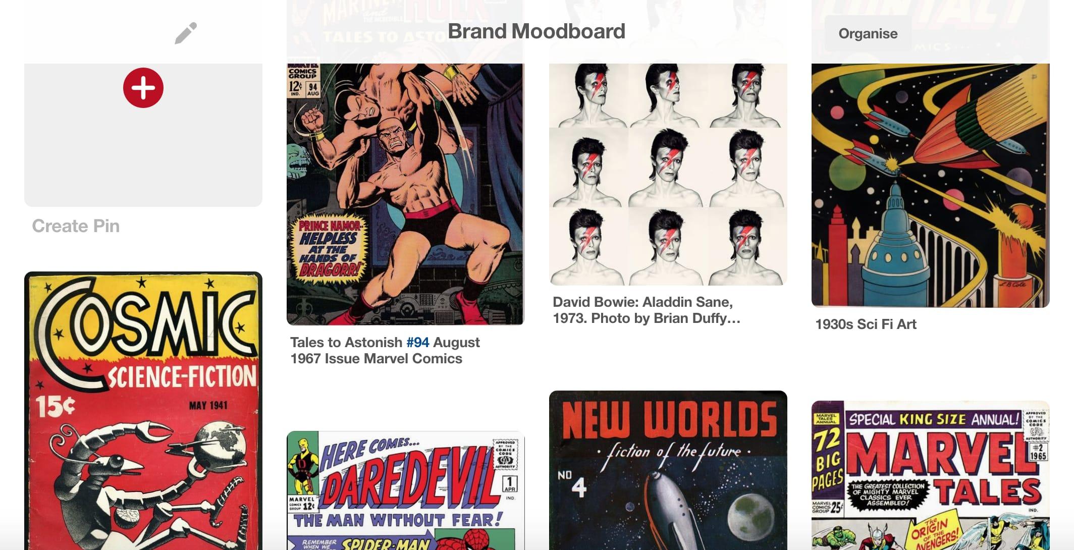 Brand moodboard for RachelTanMQ.com