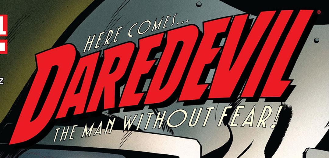 Daredevil comic logo