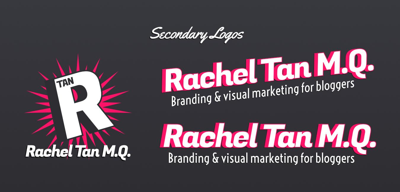 Secondary logos for RachelTanMQ.com