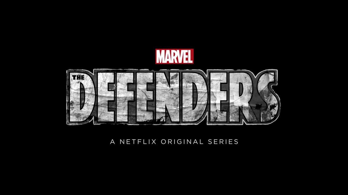 Marvel's The Defenders logo