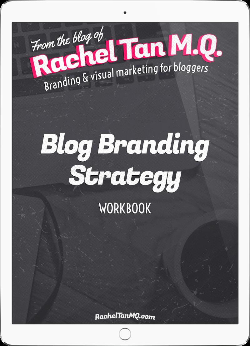 Blog Branding Strategy workbook