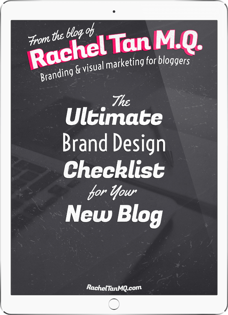 The Ultimate Brand Design Checklist for Your New Blog
