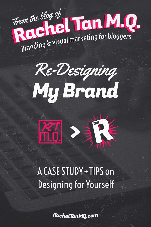 See my whole rebranding process and get tips on DIY-ing your own blog brand design! #branddesign #visualbranding #blogbranding #graphicdesigntips