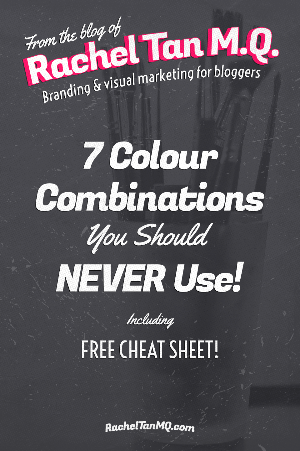 The colours you choose play a big part in making or breaking your visual brand. Make the right impression on your blog by avoiding these 7 colour combinations! • color palette | color schemes | graphic design tips | graphic design tutorials | blog brand design tips | blog brand design tutorials | blog design tips | blog design tutorials #visualbranding #colorschemes #colorpalettes #blogdesign #brandingtips #bloggingtips #graphicdesigntips