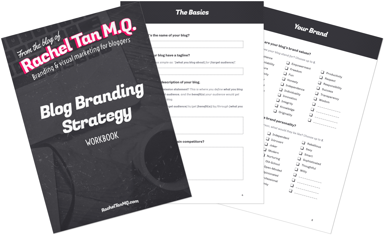 Blog Branding Strategy (FREE Workbook!)